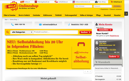 online-shop-billa